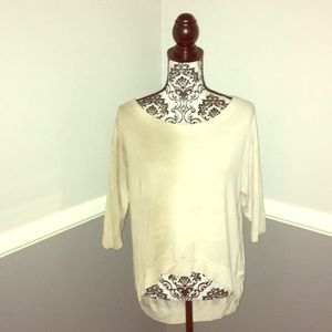 Mona B Top with Crosses On the Back!